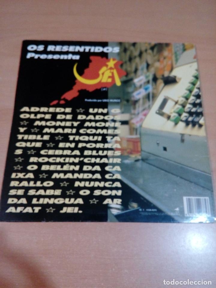 Discos de vinilo: Os resentidos - lp jei - carpeta abierta - incluye Encartes - buen estado - ver fotos - Foto 2 - 164617506