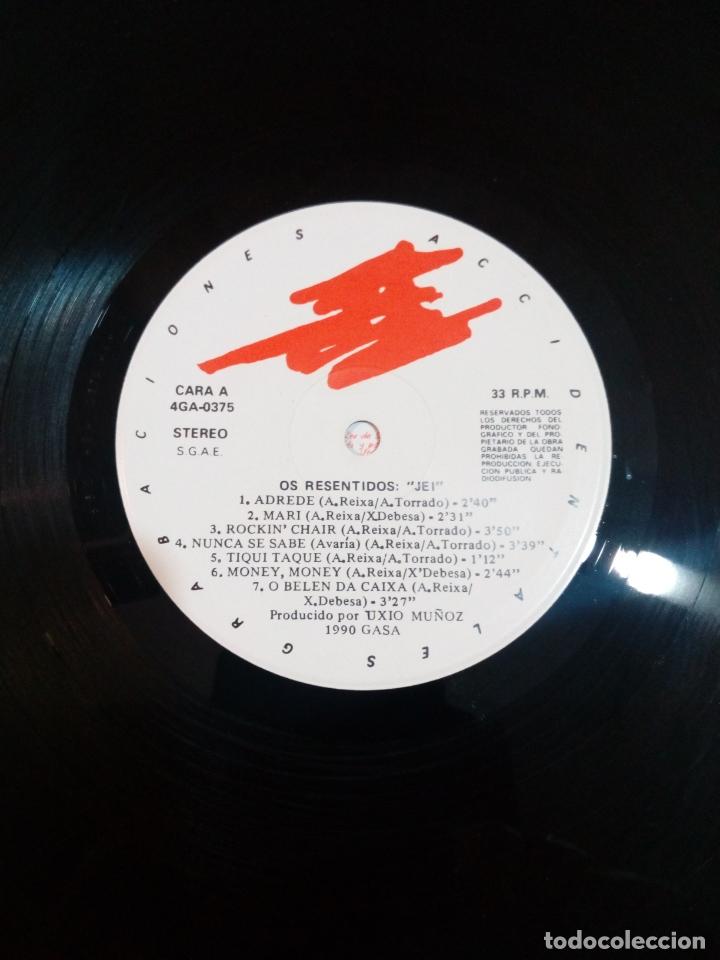Discos de vinilo: Os resentidos - lp jei - carpeta abierta - incluye Encartes - buen estado - ver fotos - Foto 5 - 164617506