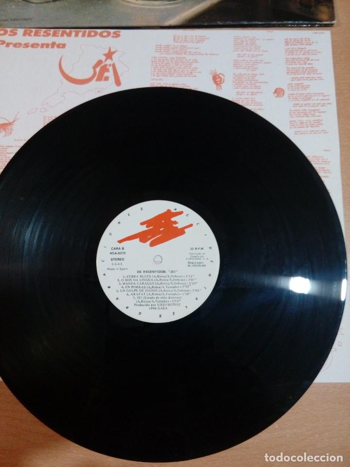 Discos de vinilo: Os resentidos - lp jei - carpeta abierta - incluye Encartes - buen estado - ver fotos - Foto 6 - 164617506