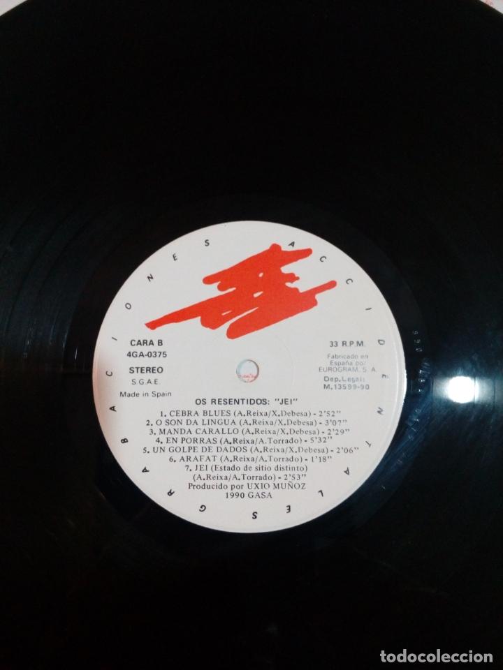 Discos de vinilo: Os resentidos - lp jei - carpeta abierta - incluye Encartes - buen estado - ver fotos - Foto 7 - 164617506