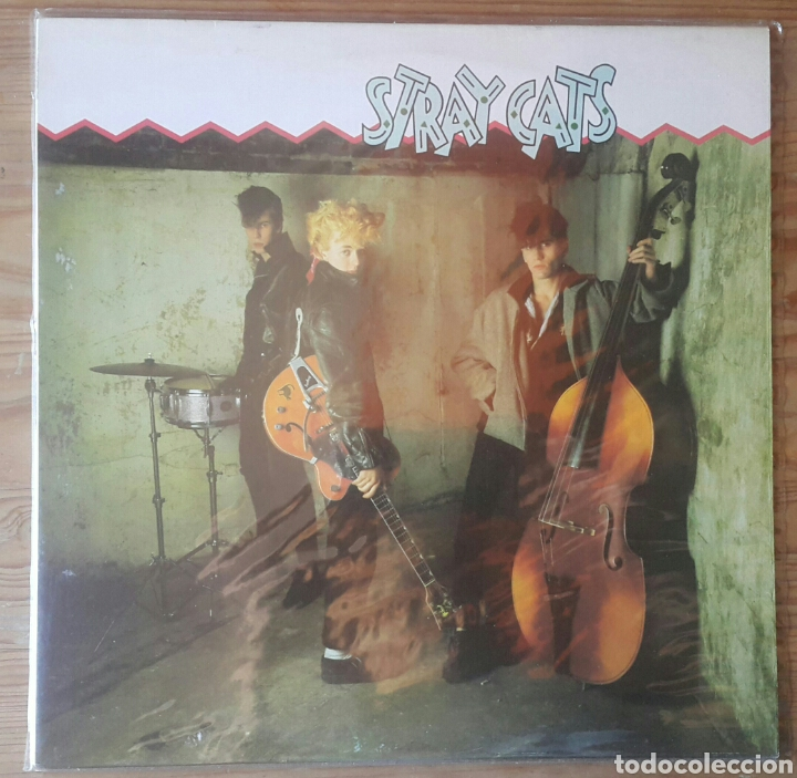 STRAY CATS/EDICION ESPAÑOLA 1981 (Música - Discos - LP Vinilo - Heavy - Metal)