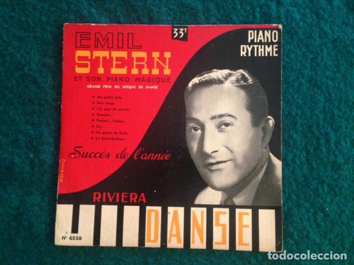 EMIL STERN ET SON PIANO MAGIQUE- DANSE - 25CM - SUCCÈS DE L'ANNÉE (Música - Discos - Singles Vinilo - Orquestas)
