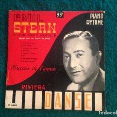 Discos de vinilo: EMIL STERN ET SON PIANO MAGIQUE- DANSE - 25CM - SUCCÈS DE L'ANNÉE. Lote 164620154
