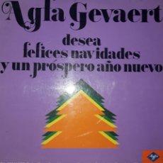 Discos de vinilo: VINILO AGFA GEVAERT. Lote 164630530
