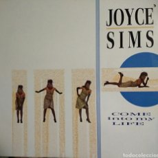 Discos de vinilo: JOYCE SIMS - COME INTO MY LIFE - LP 1987. Lote 164639029