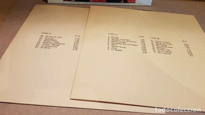 Discos de vinilo: GRANJA ANIMAL / PRIMERA OPERA-ROCK EN CATALÀ / DOBLE LP-GATEFOLD-MOVIEPLAY / BUENA CALIDAD. ***/*** - Foto 4 - 164652430