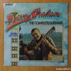 Discos de vinilo: DAVEY GRAHAM - THE COMPLETE GUITARIST - LP. Lote 164674044