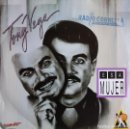 Discos de vinilo: TONY VEGA – ESA MUJER - SINGLE PROMO SPAIN 1992. Lote 164683626