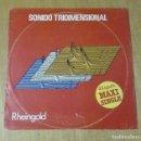 Discos de vinilo: RHEINGOLD - SONIDO TRIDIMENSIONAL (MAXI PROMO 1928, WELT-RECORD 10C 052-046420 Z). Lote 164698638