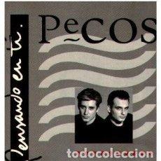 Discos de vinilo: PECOS – PENSANDO EN TI - LP SPAIN 1993. Lote 164710758