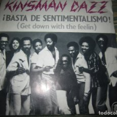 Discos de vinilo: KINSMAN DAZZ GET DOWN WITH THE FEELIN SINGLE ORIGINAL ESPAÑOL - 20 CENTURY FOX 1979 -. Lote 164718926