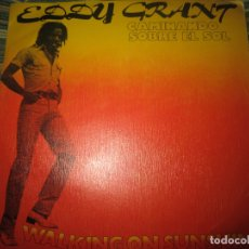 Dischi in vinile: EDDY GRANT - WALKING ON SUNSHINE SINGLE ORIGINAL ESPAÑOL - ICE RECORDS 1979 - MUY NUEVO (5).. Lote 164721718