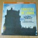 Discos de vinilo: JOSE BORGUES, MARIA JOSE DA GUIA, FERNANDA MARIA - FADISTAS DE LISBOA (LP RESQUET RECORDS SRLP 8048). Lote 164723210