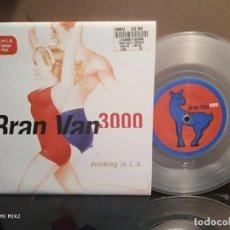 Disques de vinyle: BRAN VAN 3000 /DRINKING IN L.A. SPECIAL EDITION VINILO TRANSPARENTE. Lote 164726226