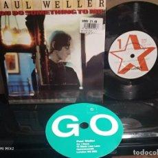 Disques de vinyle: PAUL WELLER /YOU DO SOMETHING TO ME + 3 TEMAS 1995 INGLÉS NUEVO. Lote 164728714