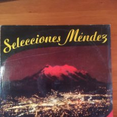 Discos de vinilo: SELECCIONES MÉNDEZ-MANOLO CORRALES. Lote 164743064