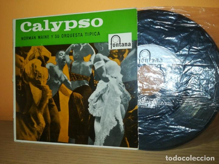 NORMAN MAINE ORQUESTA CALYPSO CO CO/ME GUSTA LA VIDA TRANQUILA/RON Y COCACOLA +1 EP 1958 SPAIN LATIN (Música - Discos - Singles Vinilo - Orquestas)