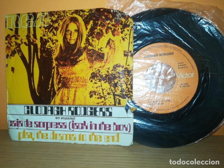 CLODAGH RODGERS - JACK IN THE BOX (EN ESPAÑOL) / ANOTHER TIME ANOTHER PLACE (45 RPM) RCA 1971 (Música - Discos - Singles Vinilo - Festival de Eurovisión)