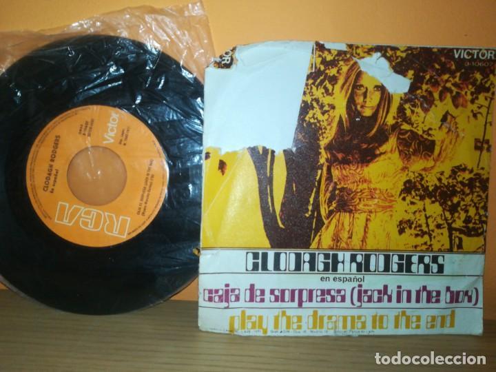 Discos de vinilo: CLODAGH RODGERS - JACK IN THE BOX (EN ESPAÑOL) / ANOTHER TIME ANOTHER PLACE (45 RPM) RCA 1971 - Foto 2 - 164753886