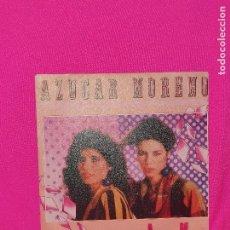 Discos de vinilo: AZUCAR MORENO - AZUCAR MORENO, LUNA COQUETA, EMI, 1984.. Lote 164755442