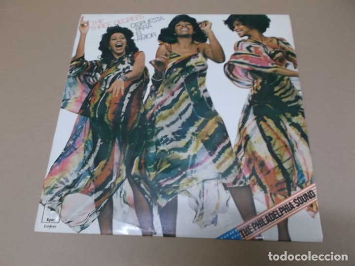 THE THREE DEGREES (LP) STANDING UP FOR LOVE AÑO 1977 (Música - Discos - LP Vinilo - Funk, Soul y Black Music)