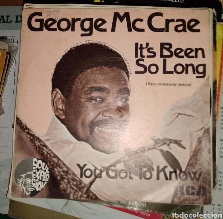 GEORGE MC CRAE - IT'S BEEN SO LONG (Música - Discos - Singles Vinilo - Pop - Rock - Extranjero de los 70)