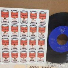 Discos de vinilo: NEGU GORRIAK / BORREROAK MALIKA AURPEGI 1993. Lote 164780082