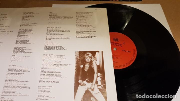Discos de vinilo: SUSIE HATTON / BODY AND SOUL / LP - GIANT RECORDS-GERMANY-1991 / MBC. ***/*** - Foto 2 - 164785622