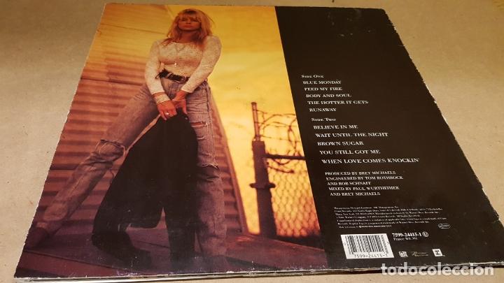 Discos de vinilo: SUSIE HATTON / BODY AND SOUL / LP - GIANT RECORDS-GERMANY-1991 / MBC. ***/*** - Foto 3 - 164785622