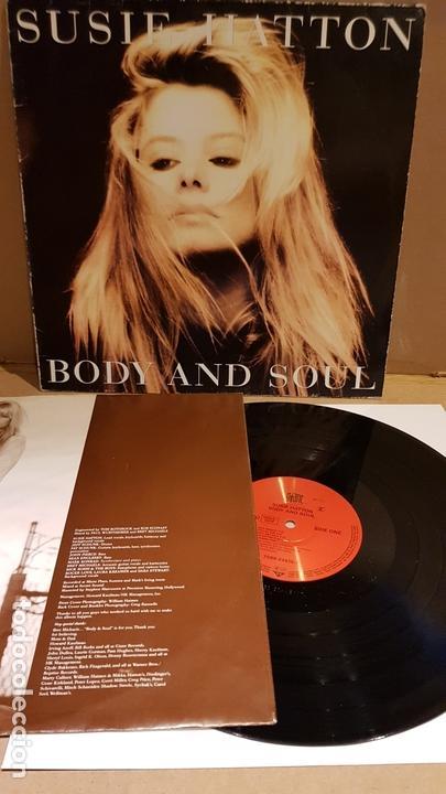 SUSIE HATTON / BODY AND SOUL / LP - GIANT RECORDS-GERMANY-1991 / MBC. ***/*** (Música - Discos - LP Vinilo - Pop - Rock Extranjero de los 90 a la actualidad)