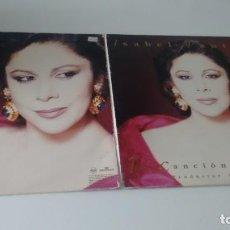 Discos de vinilo: LP ( VINILO)-DOBLE- DE ISABEL PANTOJA. Lote 164785974