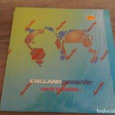Discos de vinilo: NEW ORDER - WORLD IN MOTION. Lote 164787074