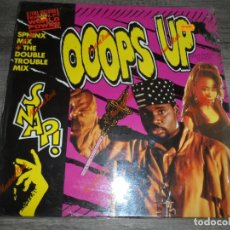 Discos de vinilo: SNAP! - OOOPS UP (SPHINX MIX) + (THE DOUBLE TROUBLE MIX). Lote 164788814