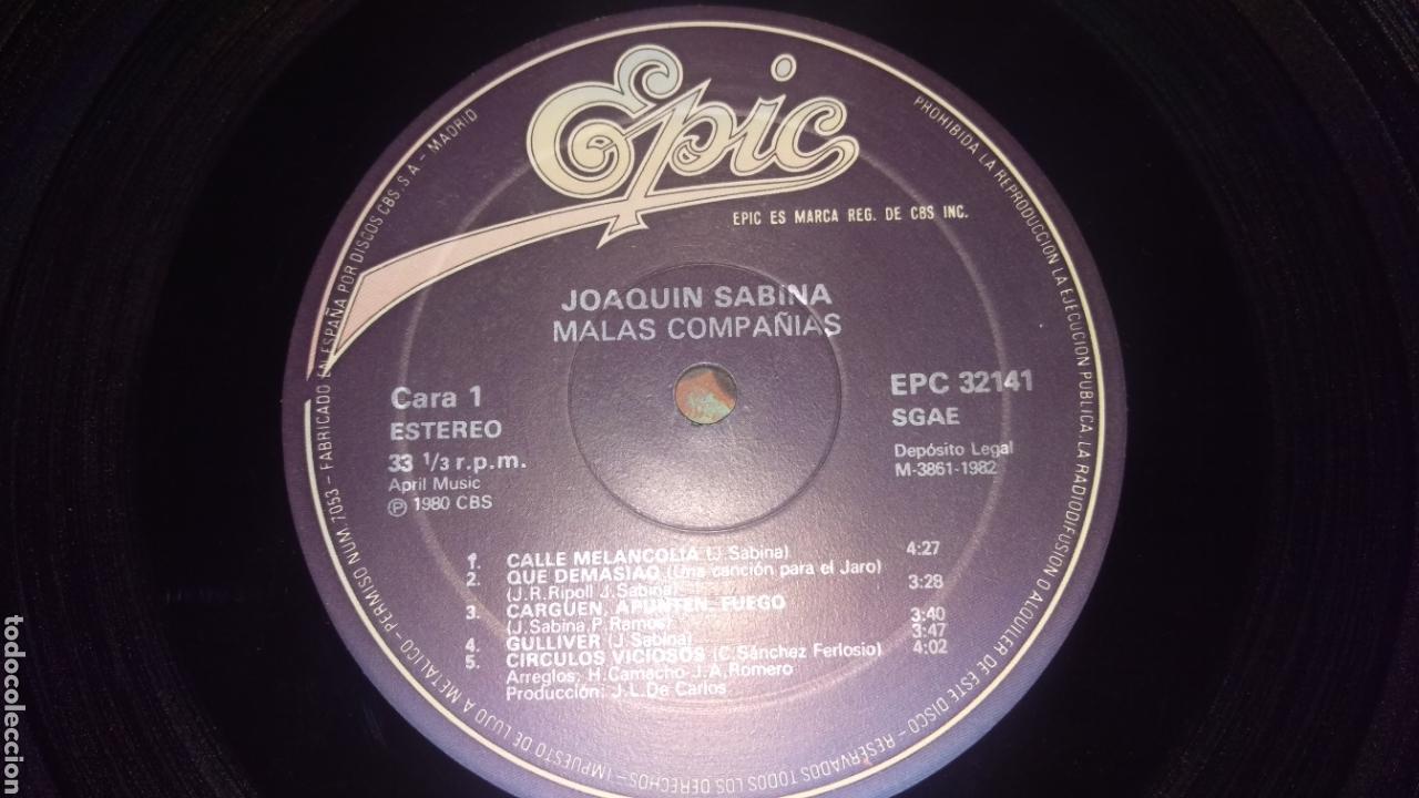 Discos de vinilo: Joaquín Sabina.LP - Foto 3 - 164789240