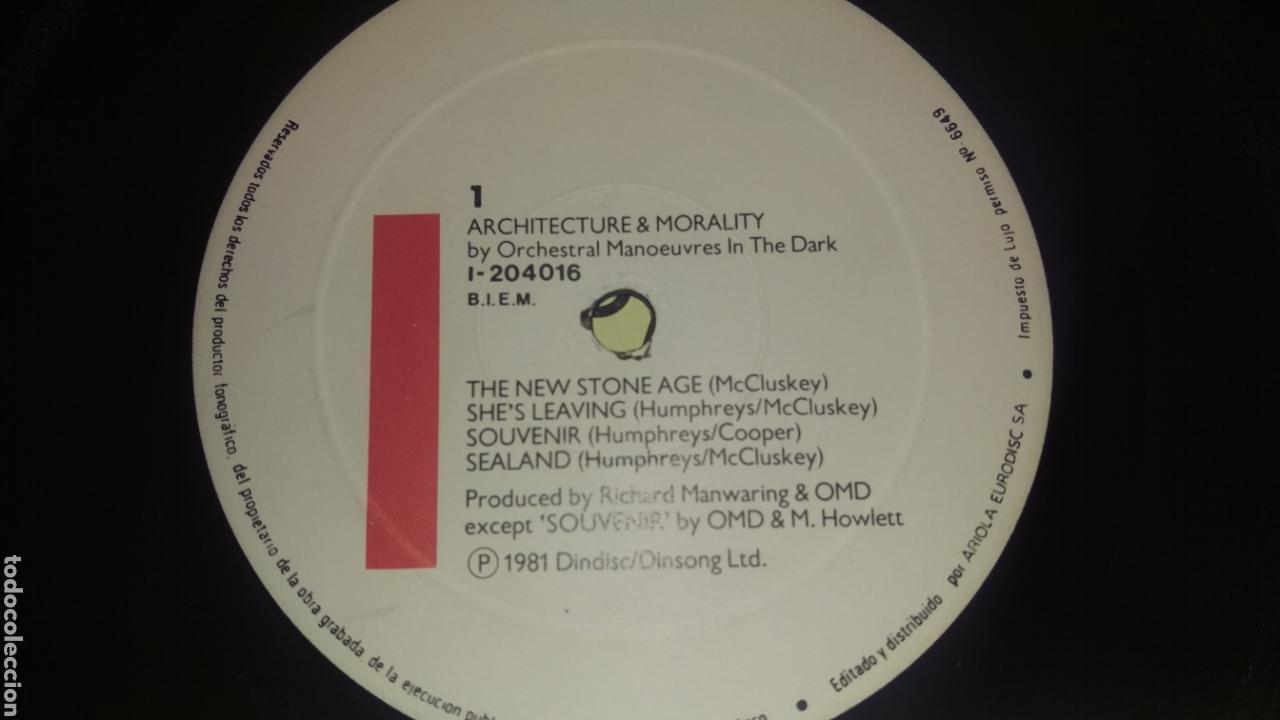Discos de vinilo: OMD.LP - Foto 4 - 164790938