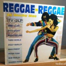 Discos de vinilo: REGGAE-REGGAE ES MUCHO MAS LP 1993 ARCADE ESPAÑA 2X LP, VINILO, ALBUM . Lote 164791586