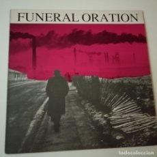 Discos de vinilo: FUNERAL ORATION - HOLLAND LP 1987 + ENCARTE- EXC. ESTADO. Lote 164794818