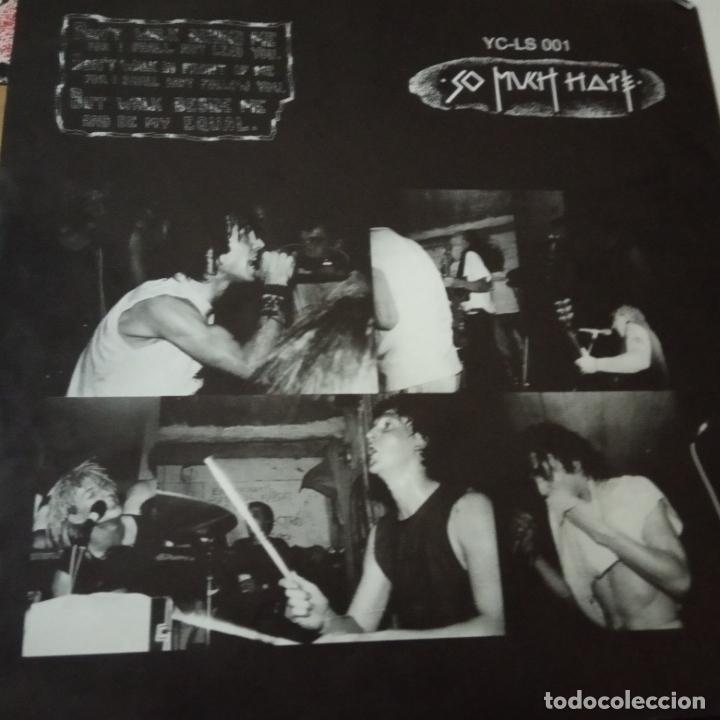 Discos de vinilo: SO MUCH HATE- YOUR CHOICE LIVE SERIES - GERMAN MAXI 1988 + 2 ENCARTE- EXC. ESTADO - Foto 4 - 164796298