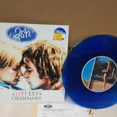 Disques de vinyle: ASH/ A LIFE LESS ORDINARY /UK 1997 EDICIÓN ESPECIAL VINILO AZUL NUEVO. Lote 164803254