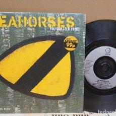 Disques de vinyle: SEAHORSES/ YOU CAN TALK TO ME /1997 UK NUEVO A ESTRENAR. Lote 164804934