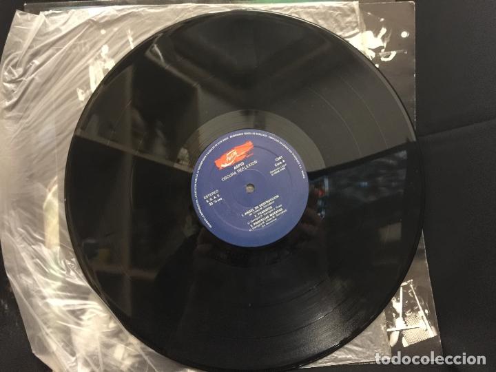 Discos de vinilo: ASPID - heavy - Original - LP - Oscura Reflexión - Contiene encarte. Portada Karl. Dificilisimo - Foto 3 - 164807022