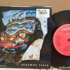 Discos de vinilo: SOUL ASYLUM/ RUNAWAY TRAIN/ 1992 UK NUEVO A ESTRENAR. Lote 262363610