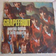Discos de vinilo: GRAPEFRUIT – QUERIDA DELILAH / LA BOTA MUERTA - SINGLE EDICION ESPAÑOLA 1968. Lote 164811314