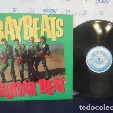 Discos de vinilo: THE RAYBEATS – GUITAR BEAT 1981, RARO 1º LP, GARAGE SURF..!! ORG EDT USA, TOP COPY !! IMPECABLE. Lote 164816634