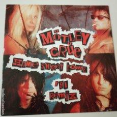 Discos de vinilo: MOTLEY CRUE- HOME SWEET HOME- (REMIX 91)- EUROPE SINGLE 1991- COMO NUEVO.. Lote 226447602