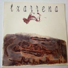 Discos de vinilo: TXARRENA- EMPUJO PA ´KI- SINGLE PROMO 1992- BARRICADA- VINILO COMO NUEVO.. Lote 164821378