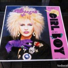 Vinyl-Schallplatten - MAXI SINGLE. SPAGNA. EVERY GIRL AND BOY. 1988, ESPAÑA - 164829698