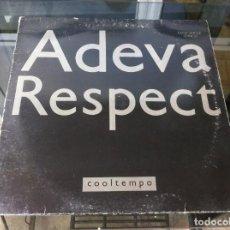 Vinyl-Schallplatten - MAXI SINGLE. ADEVA. RESPECT. 1989, ESPAÑA - 164829854