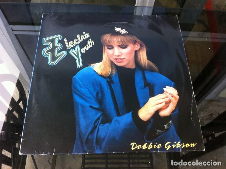 MAXI SINGLE. DEBBIE GIBSON. ELECTRIC YOUTH. 1989 (Música - Discos - LP Vinilo - Otros estilos)