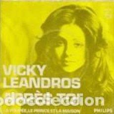 Discos de vinilo: VICKY LEANDROS APRÉS TOI EUROVISION SONGCONTEST 1972 PHILIPS 1972. Lote 164835038